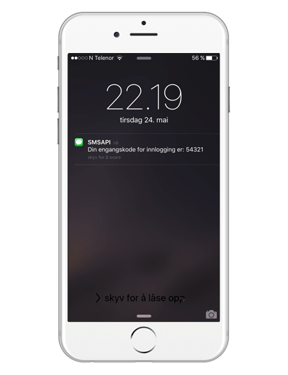 SMS API Apple Iphone